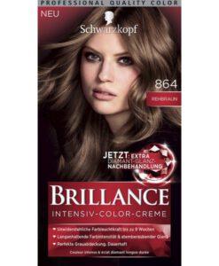 Thuốc nhuộm tóc Brillance Intensiv Color Creme 864 Rehbraun - màu nâu sáng, 1 hộp