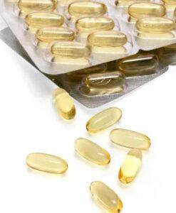 Viên nang dầu cá Mivolis Omega-3 1000 mg, 60 viên