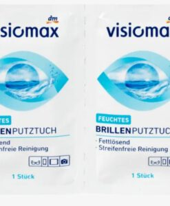 Giấy lau kính VISIOMAX Brillen Putztücher, 52 miếng