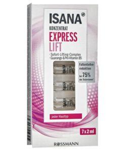 Tinh chất ISANA Express Lift Konzentrat nâng cơ, giảm nếp nhăn, 7x2ml