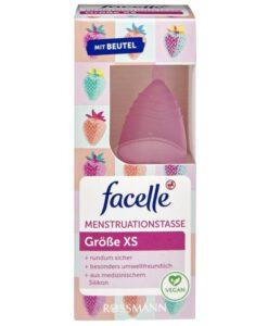Cốc nguyệt san facelle Menstruationstasse size XS, 1 chiếc