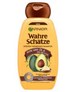 Dầu gội GARNIER Wahre Schätze Avocado-Öl & Sheabutter cho tóc rất khô và hư tổn, 250ml