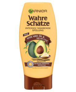 Dầu xả GARNIER Wahre Schätze Avocado-Öl & Sheabutter cho tóc rất khô và hư tổn, 200ml