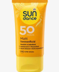 Kem chống nắng SUNDANCE Mattierendes Sonnenfluid LSF 50, 50 ml
