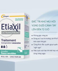 Lăn khử mùi Etiaxil Detranspirant Traitement cho da nhạy cảm, 15ml