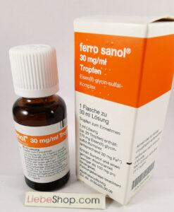 Sắt nước FERRO SANOL Tropfen dạng giọt cho trẻ sơ sinh, trẻ em, người lớn, 30ml