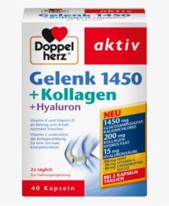 Viên uống bổ sụn khớp Doppelherz Gelenk 1450 + Kollagen + Hyaluron, 40 viên