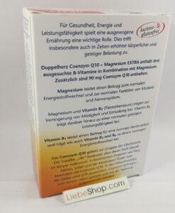 Viên uống bổ tim mạch Doppelherz Coenzym Q10 Extra + Magnesium + B-Vitamine, 30 viên