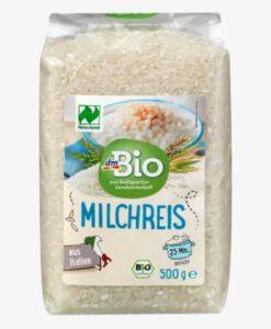 Gạo sữa hữu cơ dmBio MILCHREIS, 500g