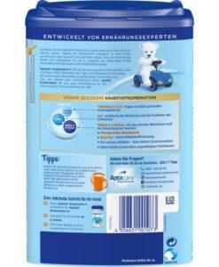 Sữa Aptamil Kindermilch 1+ cho bé từ 1 tuổi, 800g