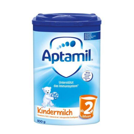 Sữa Aptamil Kindermilch 2+ cho bé từ 2 tuổi, 800g