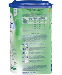 Sữa Aptamil Organic số 2 Bio Anfangsmilch cho bé trên 6 tháng tuổi, 800g