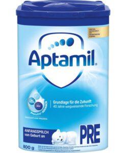 Sữa Aptamil PRE Anfangsmilch cho bé từ 0-6 tháng tuổi, 800g