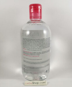Nước tẩy trang Bioderma Crealine H2O cho da thường và da nhạy cảm, 500ml