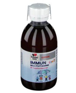 Siro Doppelherz IMMUN Multivitamine family tăng sức đề kháng, 250ml