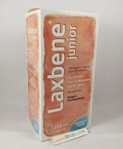 Thuốc trị táo bón Laxbene junior 500 mg/ml cho trẻ từ 6 tháng đến 8 tuổi, 200ml