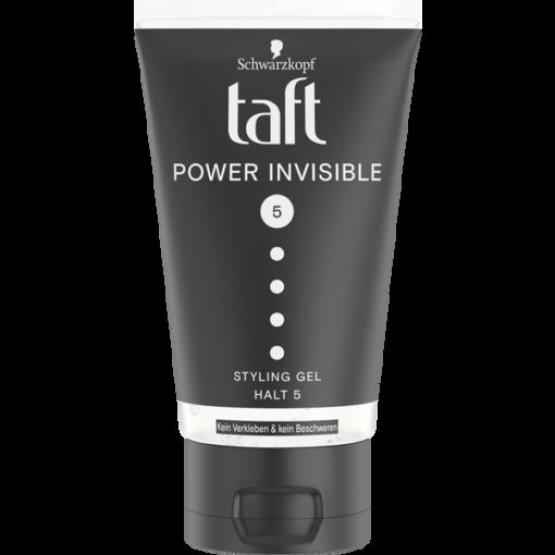 Gel vuốt tóc Taft Power Invisible Schwarzkopf, 150ml