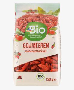 Kỷ tử hữu cơ dmBio Gojibeeren, 150 g