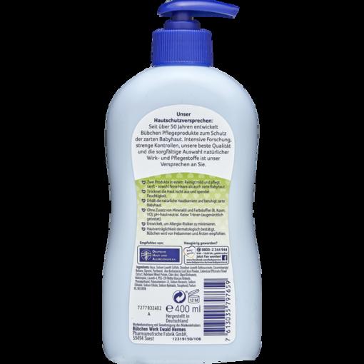 Sữa tắm gội Bubchen Bad & Shampoo cho trẻ sơ sinh và trẻ em, 400ml