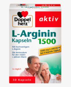 Viên uống tăng cường sinh lý nam Doppelherz L-Arginin 1500 Kapseln, 30 viên