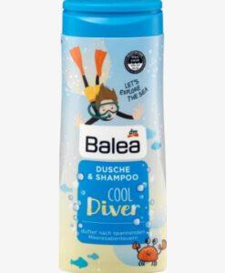 Sữa tắm gội Balea Dusche & Shampoo Cool Diver bé trai, 300ml