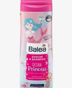 Sữa tắm gội Balea Dusche & Shampoo Ocean Princess bé gái, 300ml