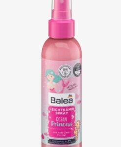 Xịt dưỡng tóc Balea Ocean Princess chống rối tóc cho bé gái, 150ml